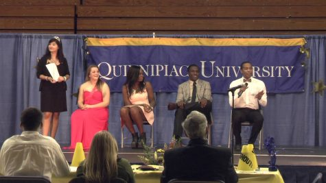 Mr. and Miss Quinnipiac crowned Friday night
