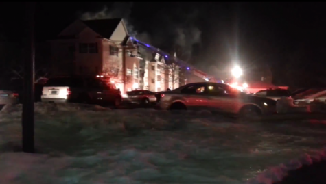Fire at Aspen Glen housing complex in Hamden