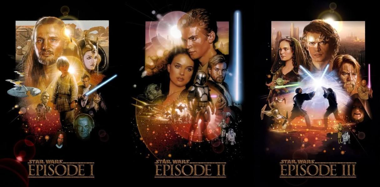 """Steve Reviews Stuff: """"Star Wars"""" Prequels"""