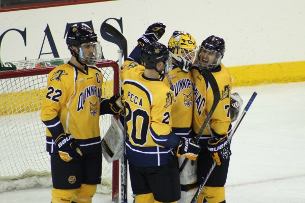 Q30 Sports preview the Quinnipiac men's hockey team's weekend against Colgate and Cornell