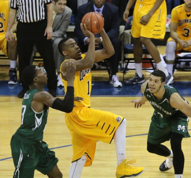 Former Quinnipiac guard Zaid Hearst signs with Arete Sports Agency