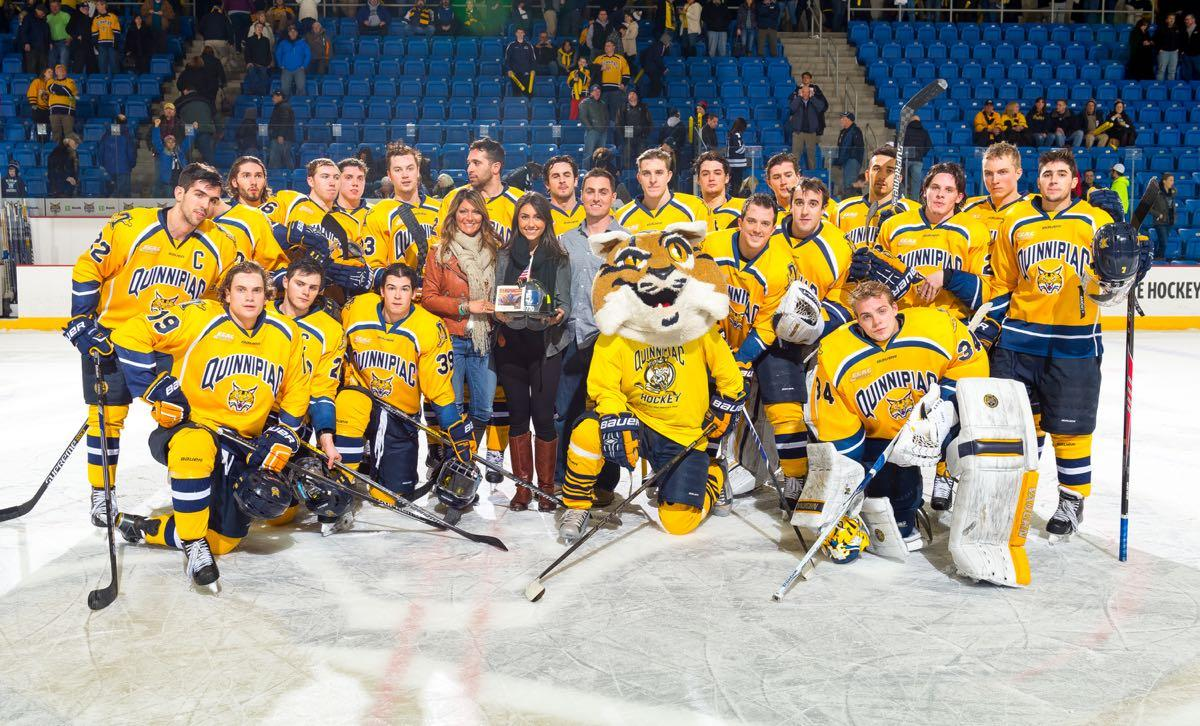Quinnipiac men's hockey team ties Yale for the second time this season