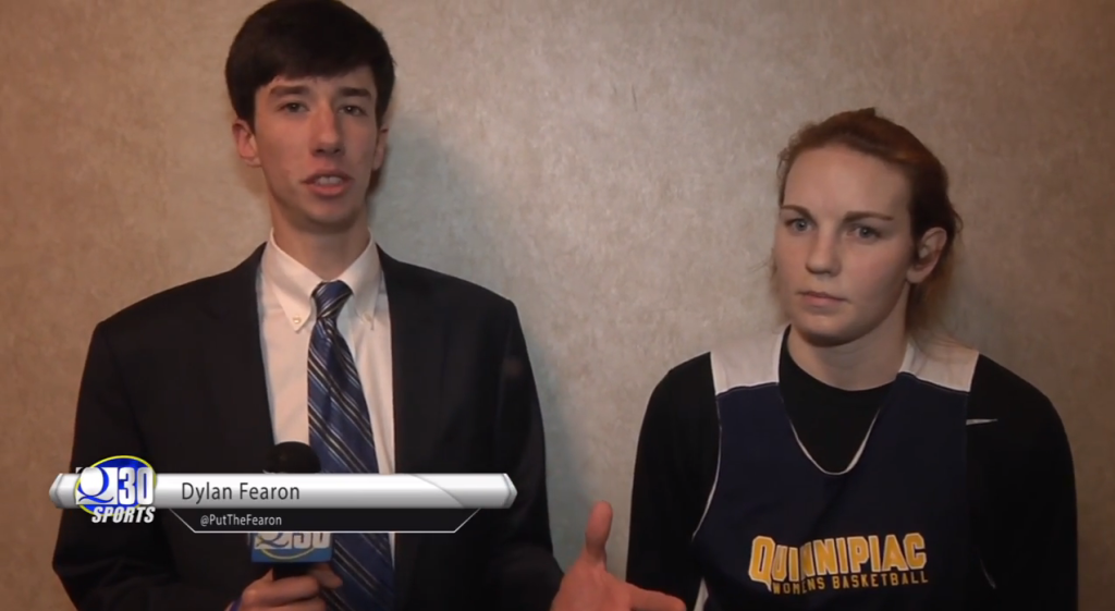 Quinnipiacs Val Driscoll gives her thoughts on 2015 MAAC Championship Game