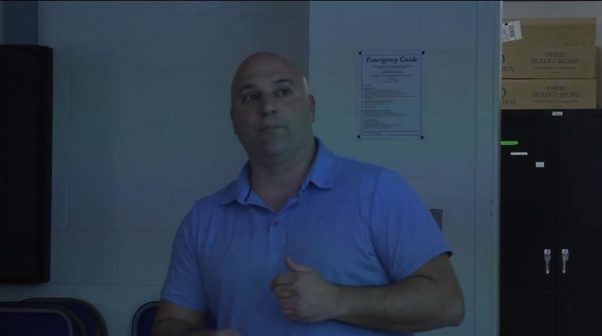 QuinniPeople: Biology professor Anthony DeCristofaro