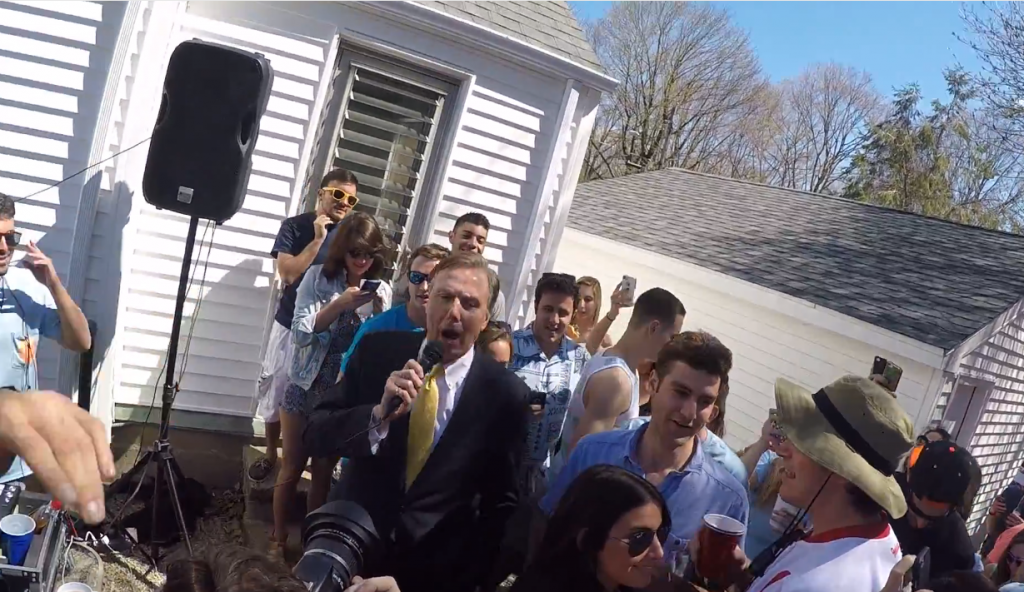 Quinnipiac+President+John+Lahey+sparks+controversy+with+May+Weekend+speech