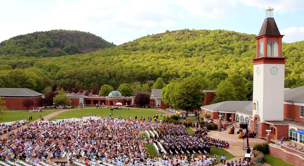 Highs and lows of Quinnipiacs undergraduate commencement ceremonies