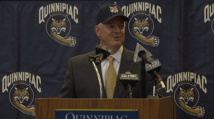 Quinnipiac announces Greg Amodio as new Director of Athletics and Recreation