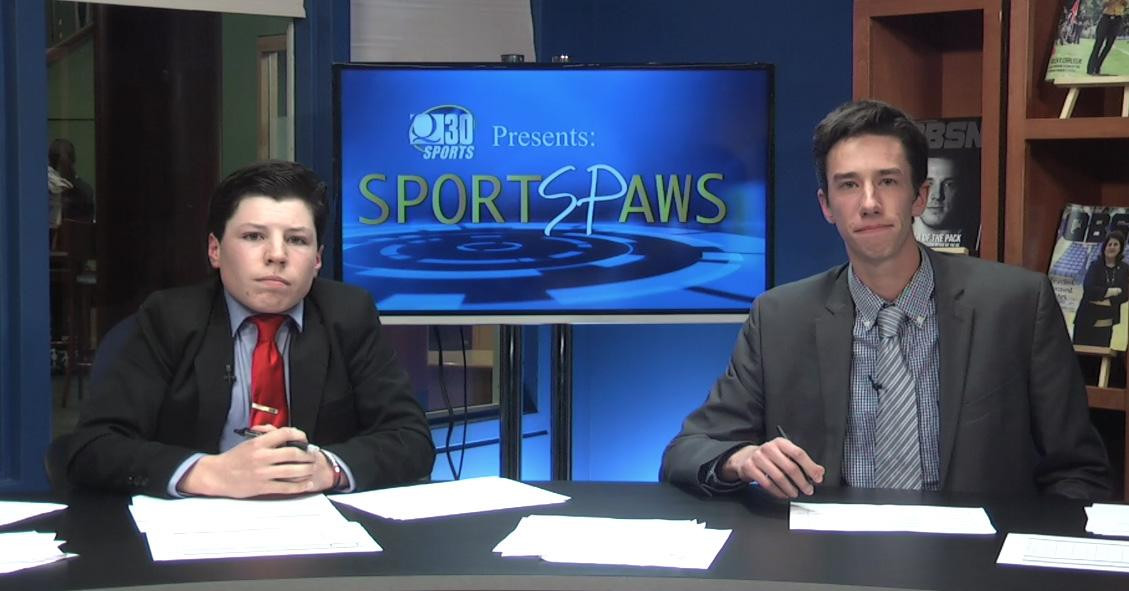 Sports Paws: 12/7/15