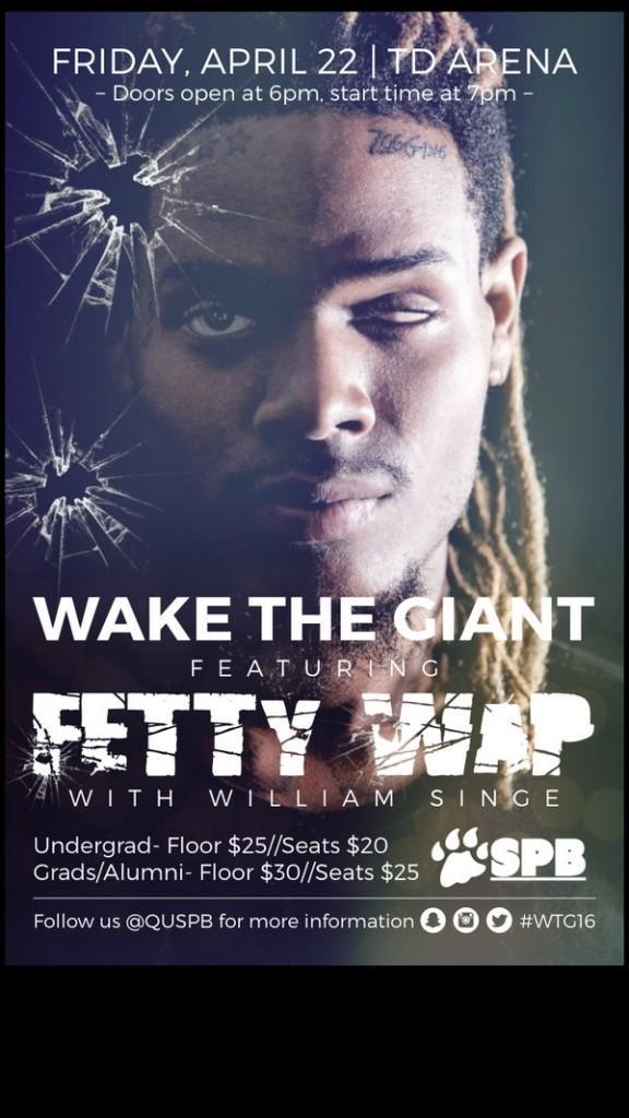 Fetty Wap to headline annual Wake the Giant Concert