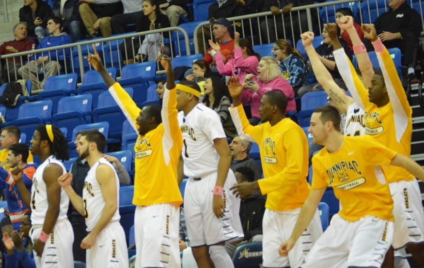 Defense aids Quinnipiac mens basketball to one point victory against Saint Peters