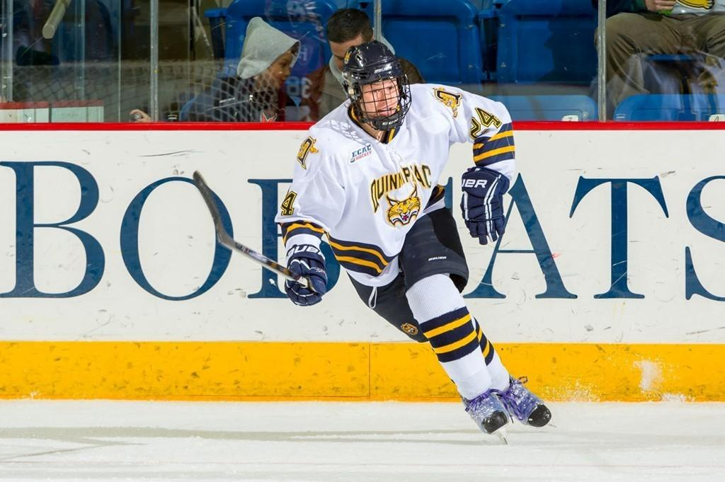 Woods Gives Quinnipiac the Series Lead