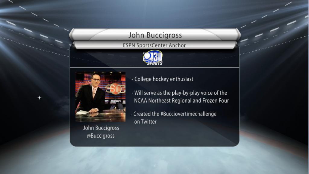 Mens hockey NCAA tournament preview with ESPNs John Buccigross
