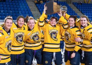 Seniors vault Quinnipiac women's ice hockey to next level