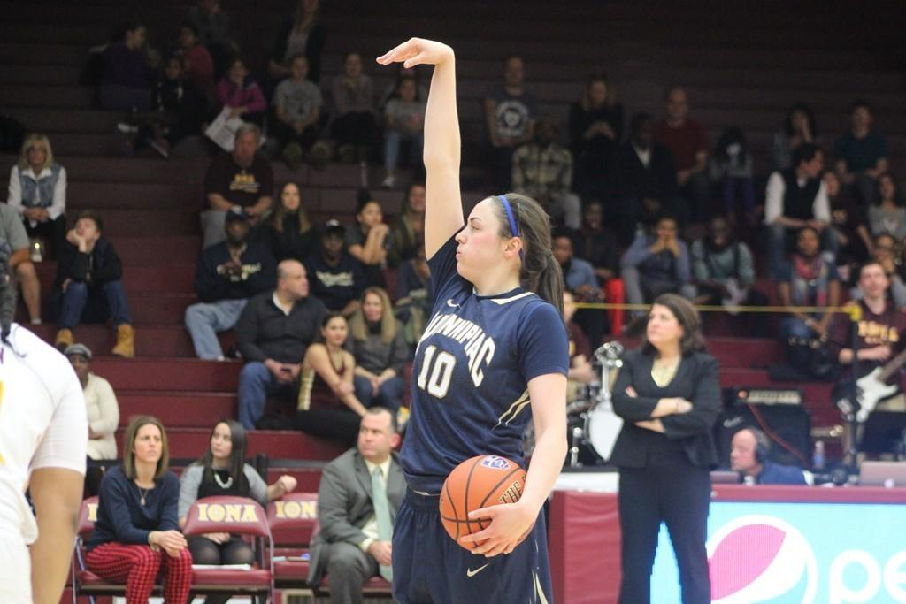 Sidelined by injury, Napolitanos role magnified as Quinnipiac defends its crown