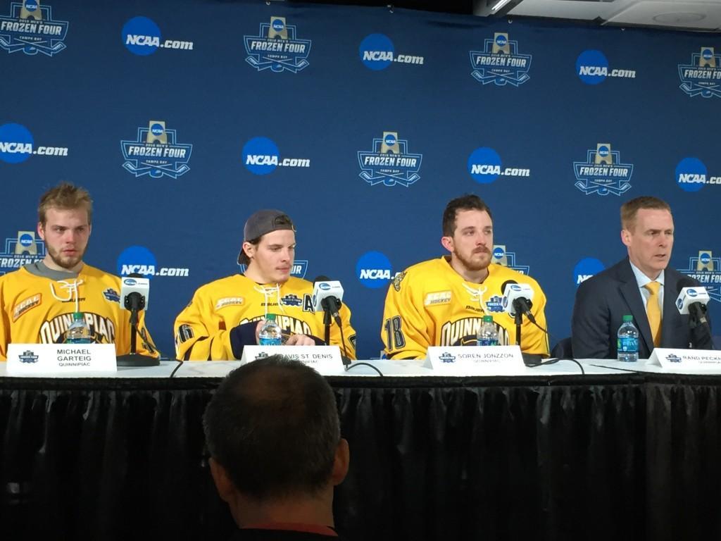Quinnipiac falls to North Dakota 5-1 in the National Championship game