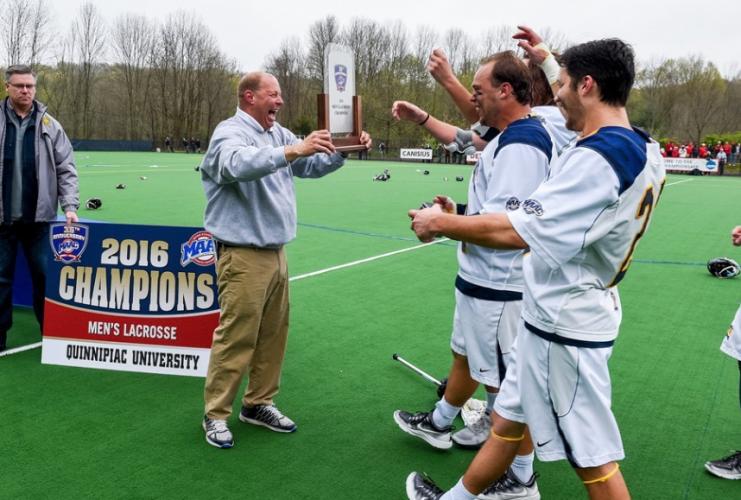 Quinnipiac men's lacrosse to host Hartford in NCAA Tournament preliminary round