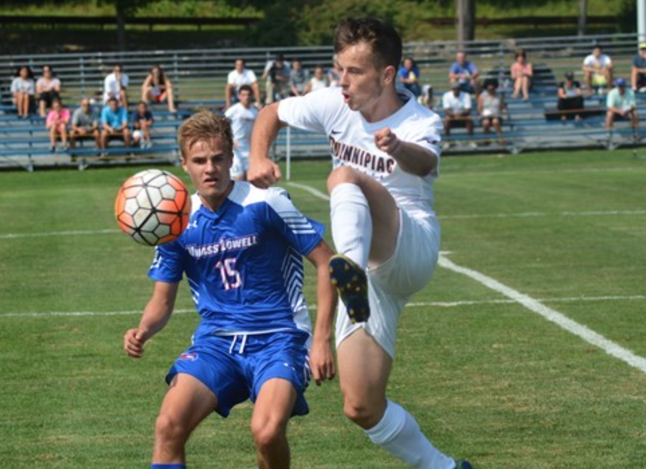 Quinnipiac men's soccer's streak halted at two, losses to UMass-Lowell at home
