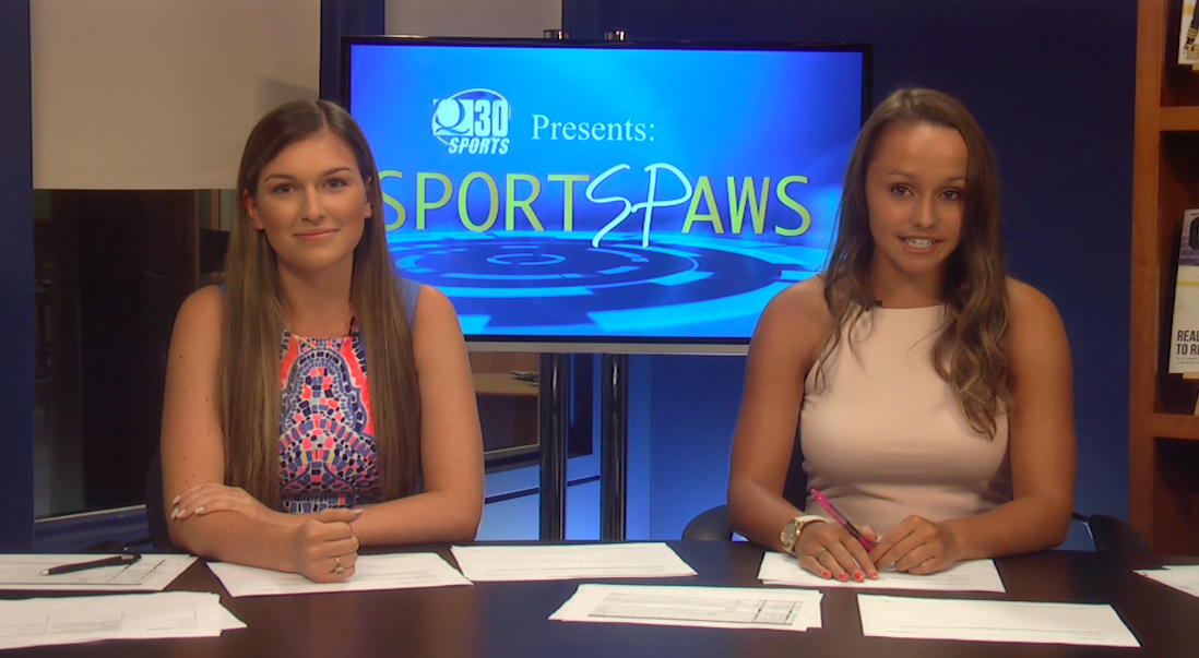Sports Paws: 9/12/16