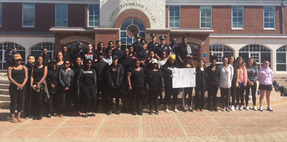 Timeline: Protesters at Quinnipiac in support of Black Lives Matter movement