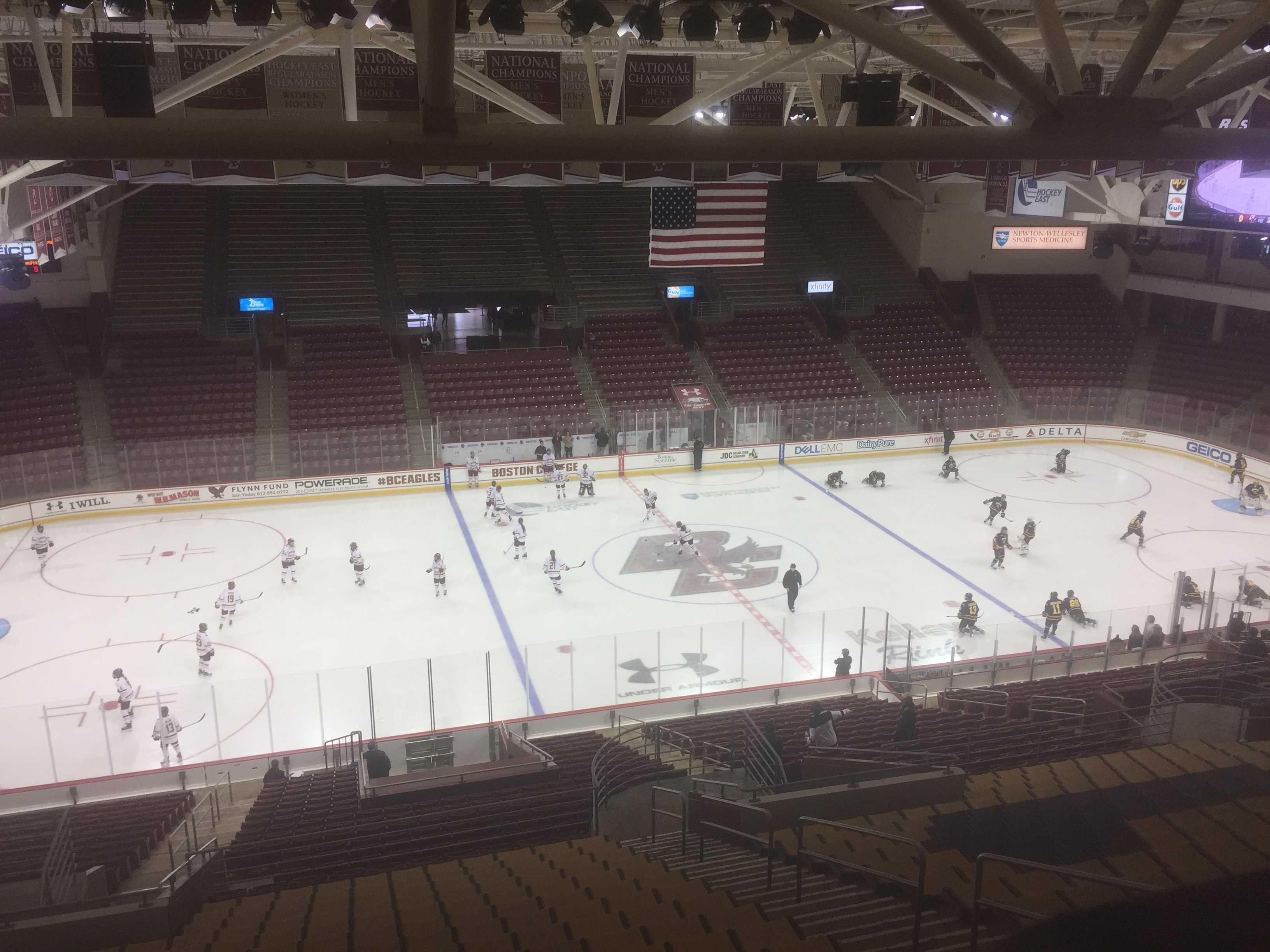 Quinnipiac skates to a 0-0 tie with Boston College