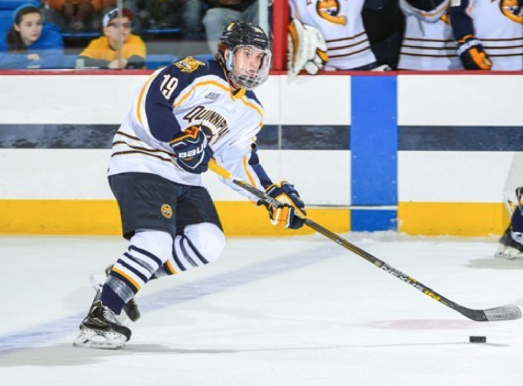 No. 2 Quinnipiac mens ice hockey ties No. 15 Northeastern in its first game of the 2016-2017 season
