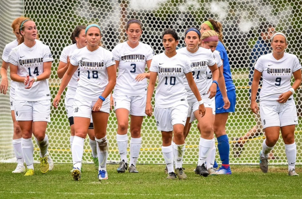 Quinnipiac womens soccer has strong showing on senior day