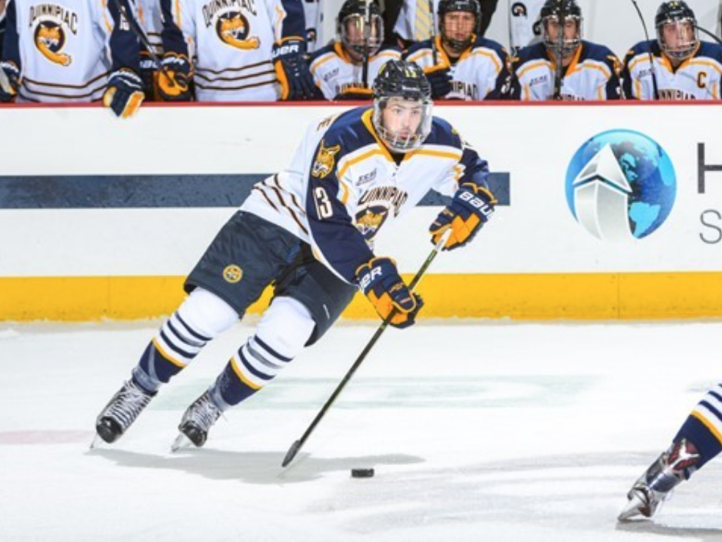 Quinnipiac mens ice hockey earns first win, beats Northeastern 5-2