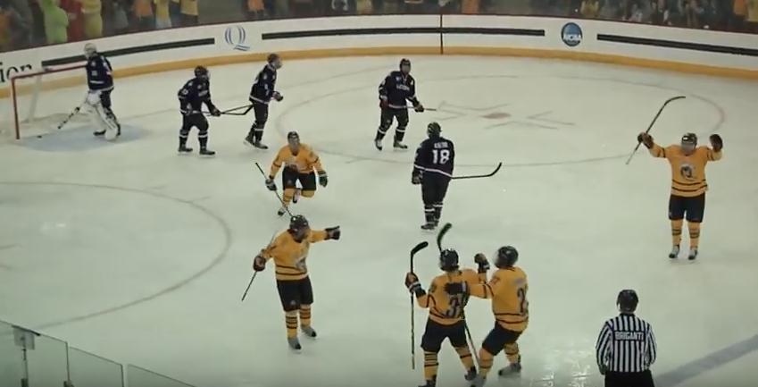 Quinnipiac mens ice hockey handles UConn 5-2, despite costly defensive loss