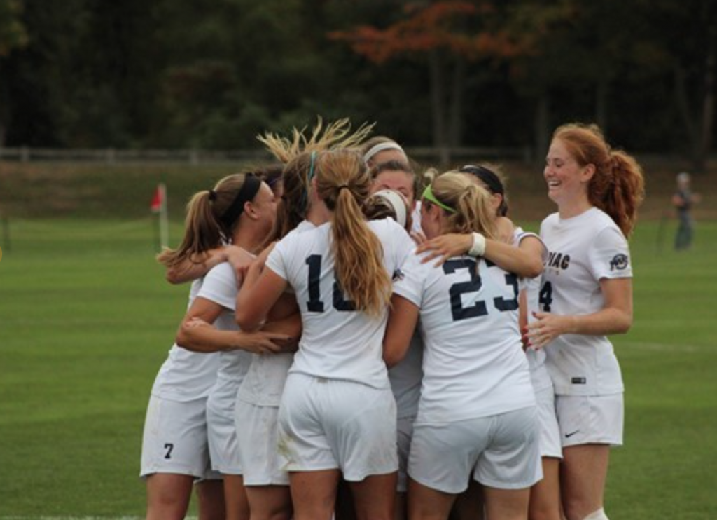 The Quinnipiac womens soccer team finishes regular season with commanding 3-1 win