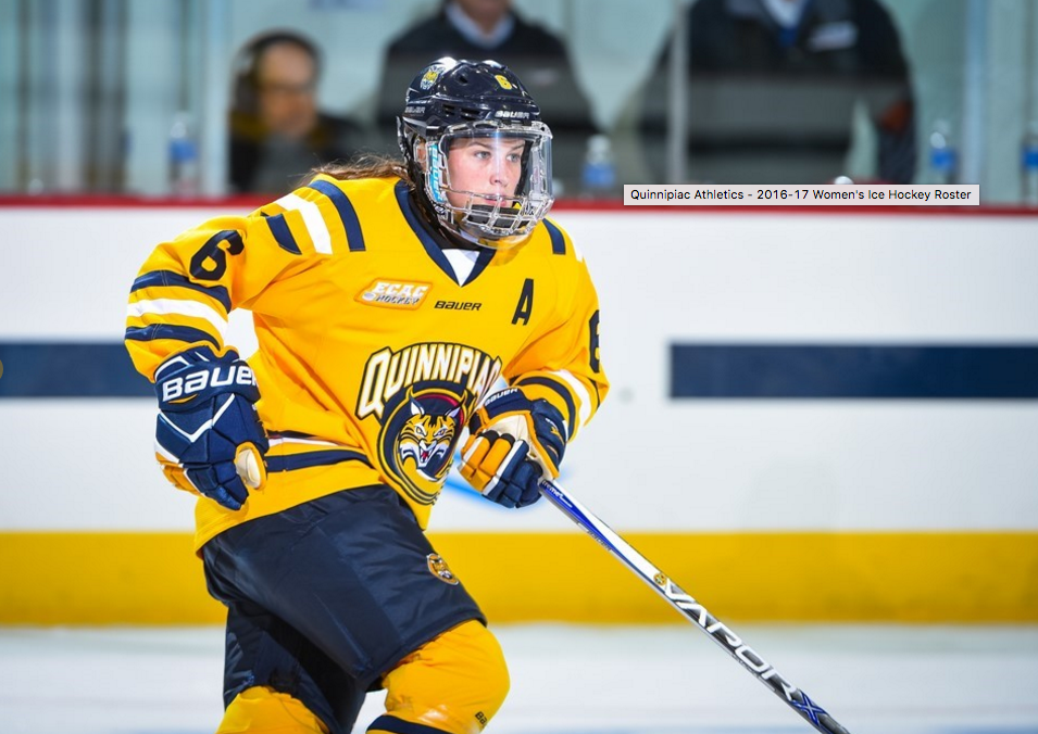 Eight different Bobcats score as Quinnipiac womens ice hockey routs Brown 8-0