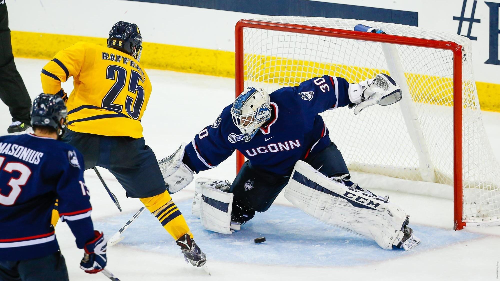 Quinnipiac depth on display in 5-2 routing of UConn