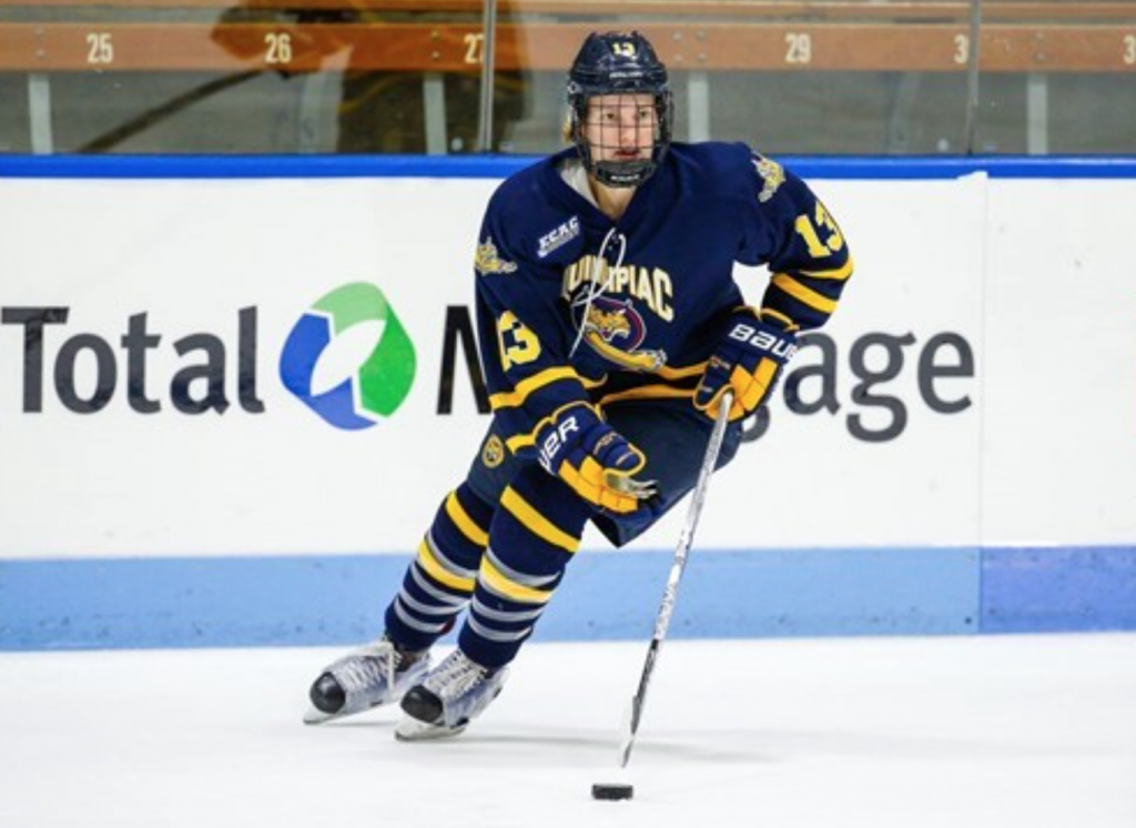 Lancaster%E2%80%99s+two+goals+leads+Quinnipiac+to+3-1+victory+over+Colgate+in+Ives%E2%80%99+first+start