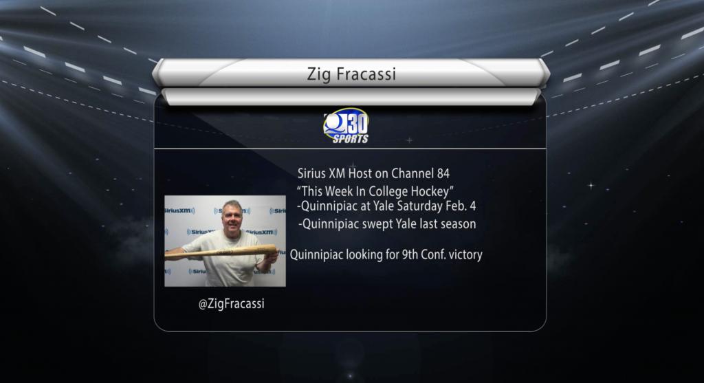 This Week in College Hockey host Zig Fracassi previews Quinnipiac vs Yale
