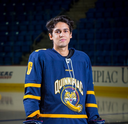 Brandon Fortunato's journey to Quinnipiac men's ice hockey