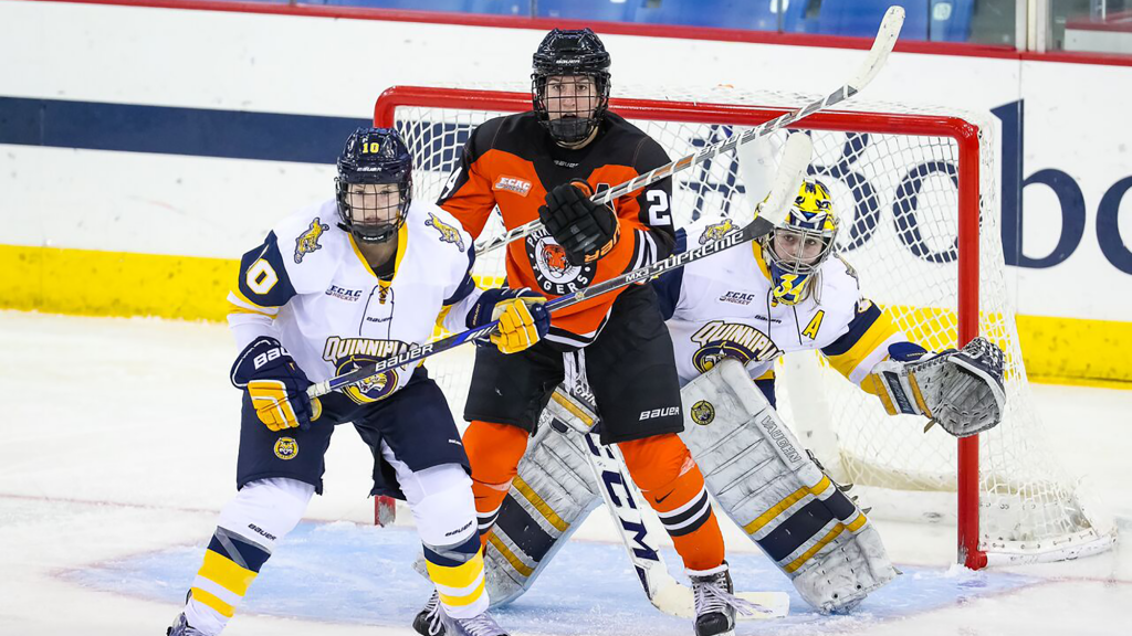 Quinnipiac's offensive woes lead to 2-0 loss, force Game 3.