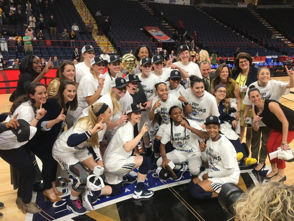 Quinnipiac finishes business, wins third conference championship in five years