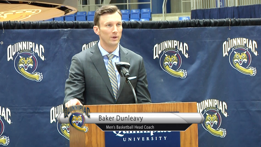 New Hire: Baker Dunleavy introduced as men's head coach