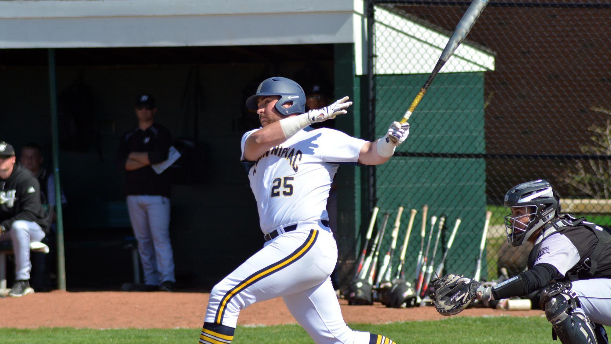 Quinnipiac baseball drops a nail biter to Bryant, 7-6