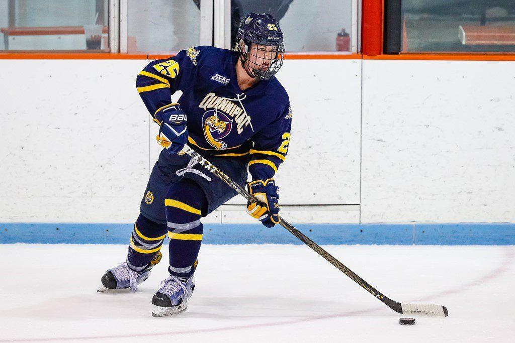 Former Quinnipiac womens ice hockey player takes her talents to the pitch