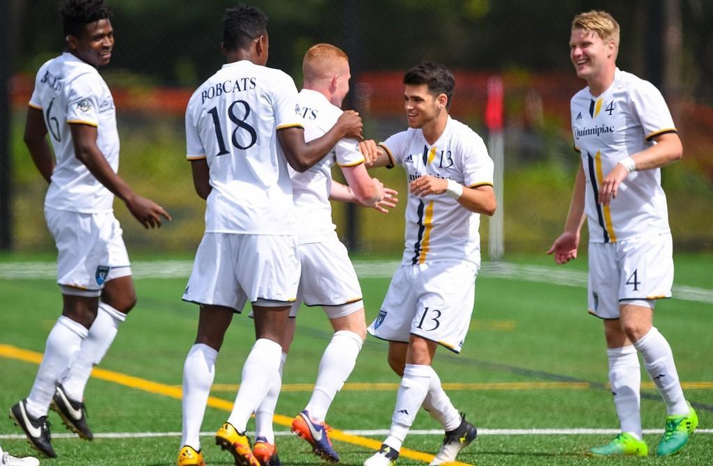 Quinnipiac men's soccer wins home opener against Saint Joseph's