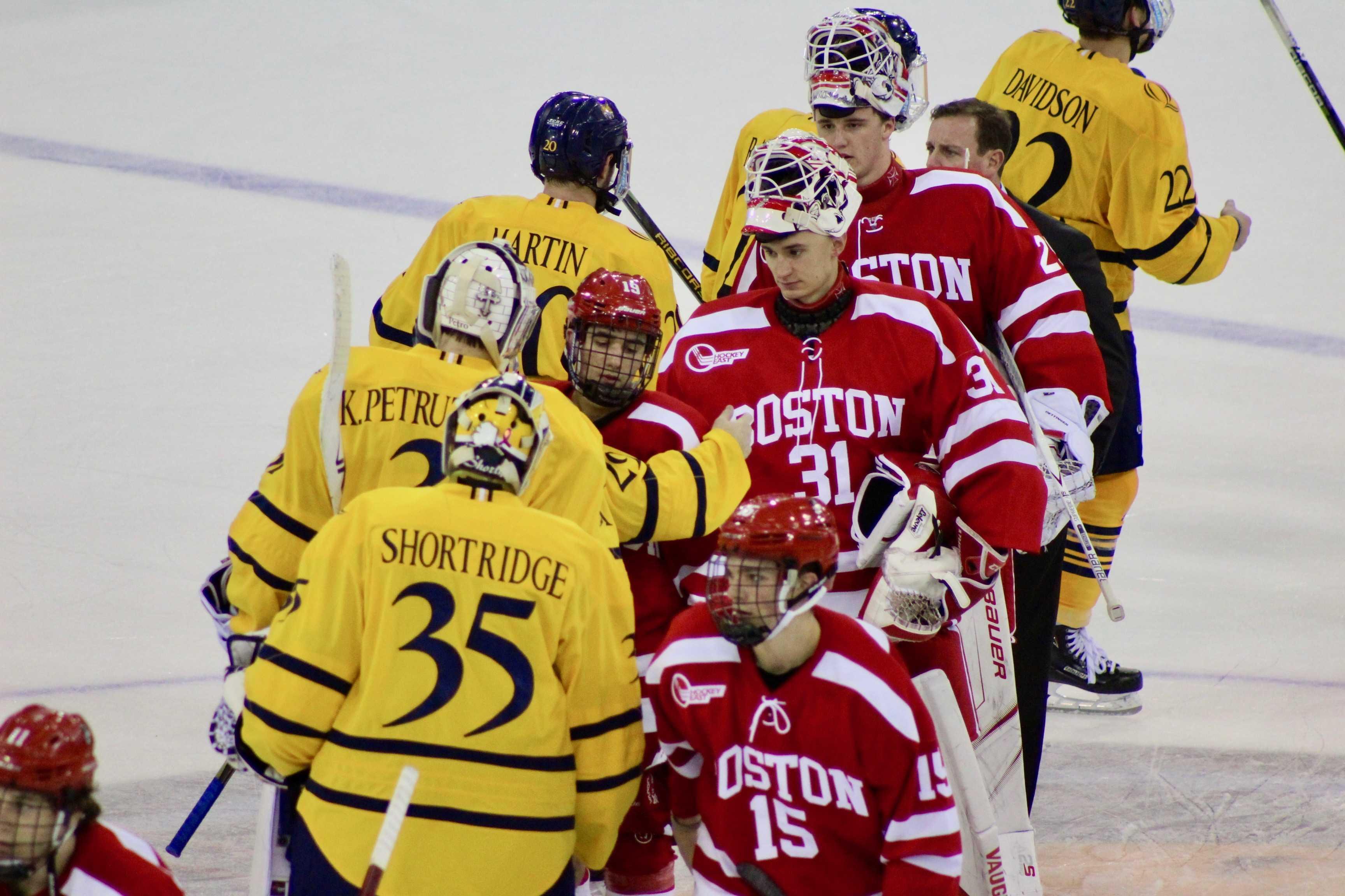 No. 14 Quinnipiac Drops Home Opener to No. 2 Boston University in Overtime