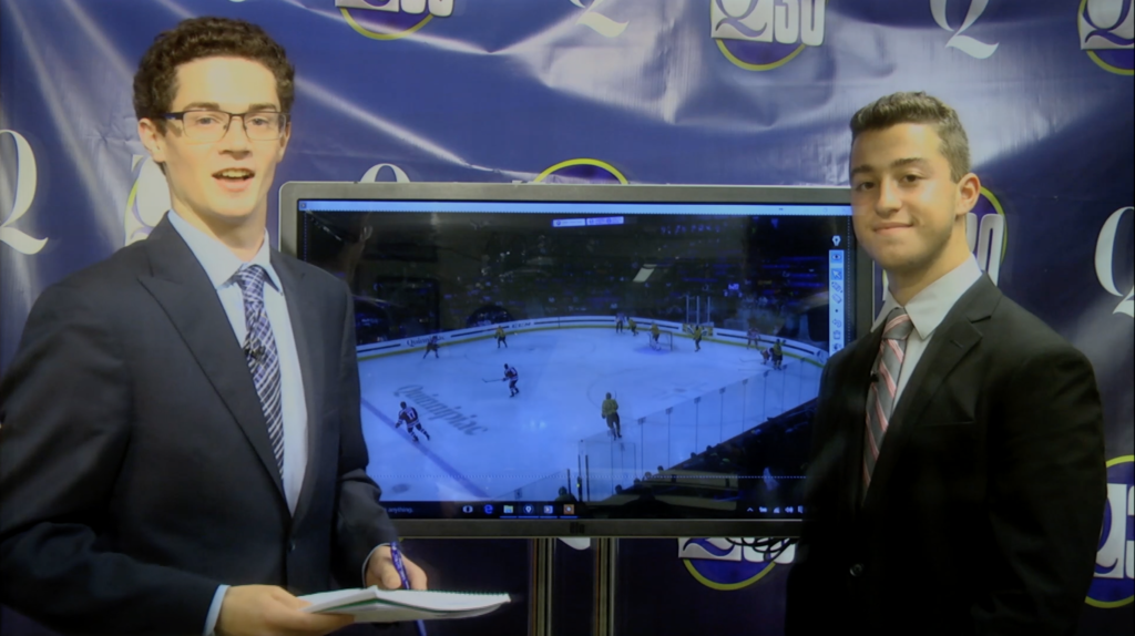 Touch screen analysis: Quinnipiac men's hockey loss to Boston University
