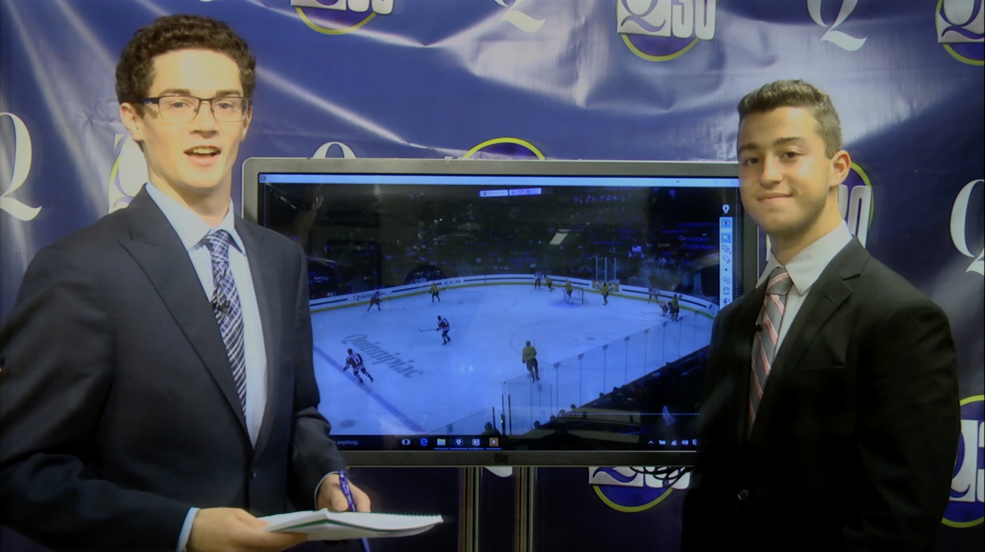 Touch screen analysis: Quinnipiac men's hockey loss to Boston University