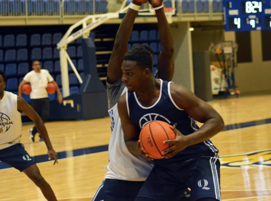 Video: Kevin Marfo gets a new start with the Quinnipiac men's basketball team