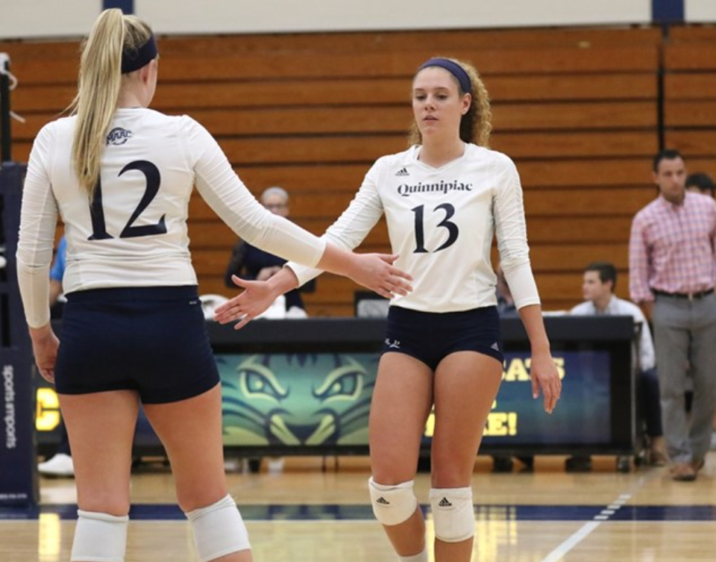Quinnipiac womens volleyball drops fifth straight game against Iona