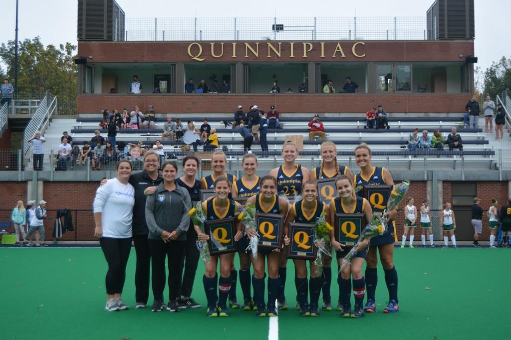 Quinnipiac field hockey beats Siena 3-2