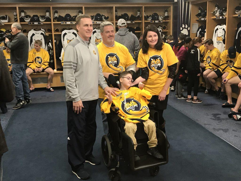 Quinnipiac men's hockey adds an impact player