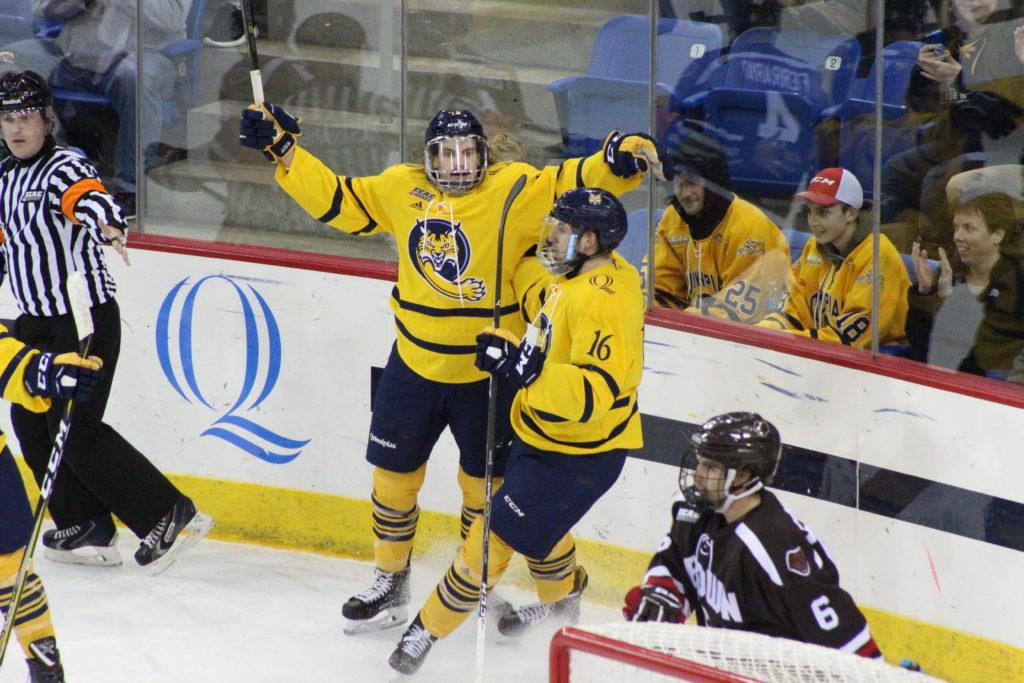 Quinnipiac defeats Brown for first ECAC win