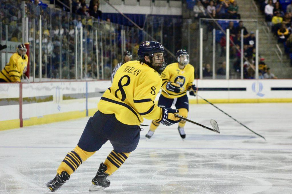 No. 11 Quinnipiac drops ECAC opener to No. 18 Cornell 2-1