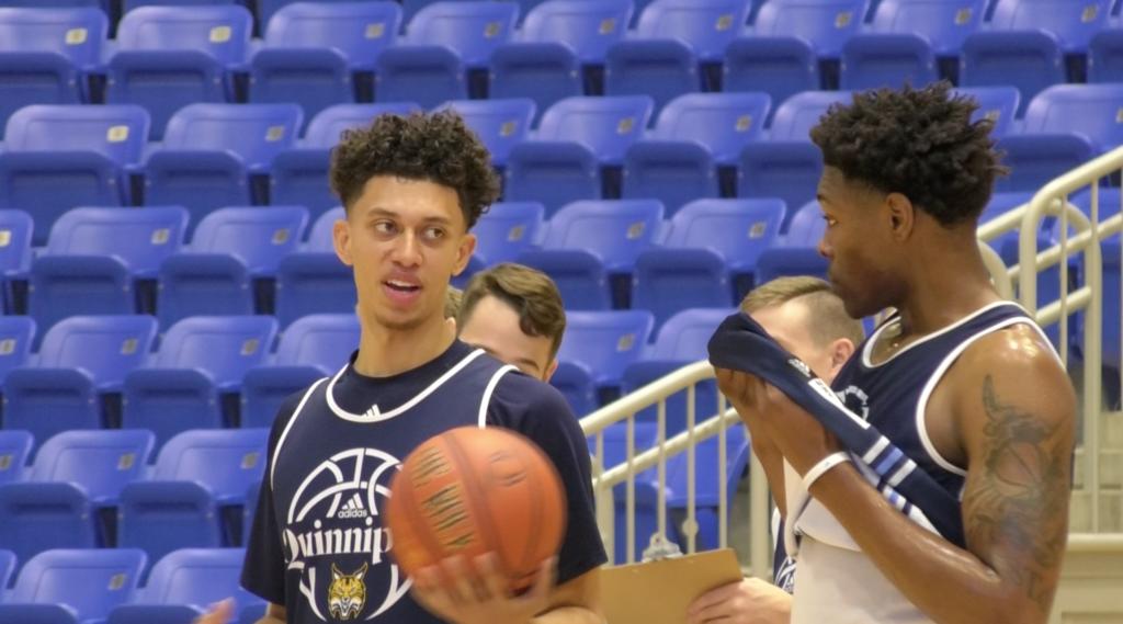 Nathan Davis is preparing for his future with Quinnipiac men's basketball